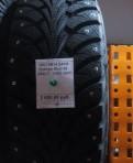 Новые шипованные шины на Газель