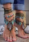 Барефуты, украшения для ног, браслет на ногу