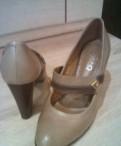 Туфли кожаные 39 размер
