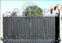 Ворота Амарант автомат, металл ковка