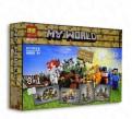 Конструктор Bela 10177 аналог Lego Minecraft 21116