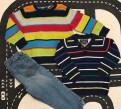 Стильный комплект рубашка джинсы свитер, Санкт-Петербург