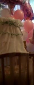 Балдахин с держателем на детскую кроватку