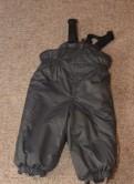 Штаны на лямках, осень/зима, размер - 74-80