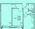 2-к квартира, 53. 5 м², 4/8 эт