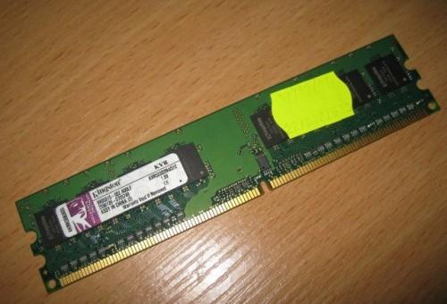 RAM dimm DDR2 Kingston KVR533D2N4/512