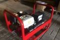 Бензиновый генератор 6 кВт мотор Honda GX390 сваро, Санкт-Петербург