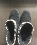 Замшевые зимние ботинки Rieker
