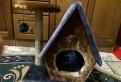 Домик + когтеточка для кошки, Советский