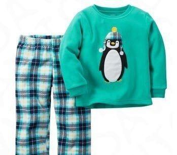 Новая флисовая пижама Carter's