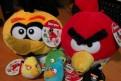 6 мягких игрушек Angry Birds