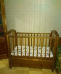 Детская кровать с продольным маятником Можга