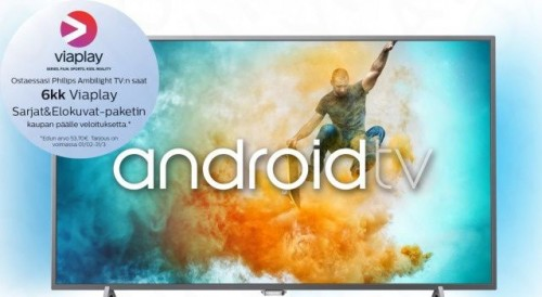 "Philips 55PUT6401 55"" Smart Android 4K Ultra"