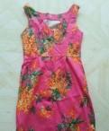 Платье сиреневое, белое и сарафан розовый