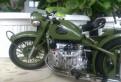 Модель мотоцикла BMW R71/M-72/CJ-750 1/10от KYocho