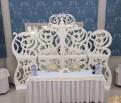 Аренда ажурной стенки-декорация, фоновое украшение, Гатчина