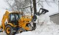 Аренда экскаватора погрузчика 24 часа. Уборка снега, Санкт-Петербург