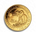 Золотая инвестиционная монета