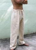Прямые штаны из органического хлопка, мужской костюм бриони