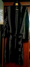 Халат махровый новый, куртки зимние мужские парка