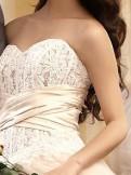 """Свадебное платье """"Карамель"""", свадебное платье в стиле ампир"""