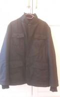 Кожаная куртка с мехом козлика, куртка мужская