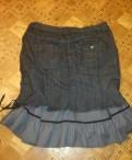 Юбка джинса р 54 с подюбником двойная, норковая шуба рукав трансформер