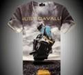 Стильная мужская футболка Just Cavalli новая, мужские свитера пром