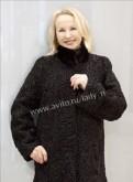 Шуба из каракуля с норкой, 75 см, пижама женская фланель купить