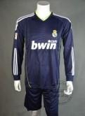 Футбольная форма Реал Мадрида с длинным рукавом, кристиан диор мужская одежда