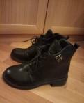 Желтые туфли на высоком каблуке, зимние ботинки