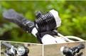USB фара на велосипед + налобный фонарь 3800Lum