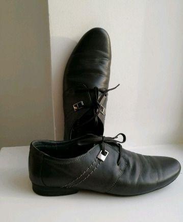 Adidas x palace кроссовки, мужские кожаные туфли серого цвета. 40р-р