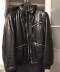 Куртка Dolche Gabbana кожаная зимняя оригинал, купить плащ дождевик мужской
