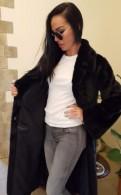 Шуба норковая, узкие брюки женские на полных