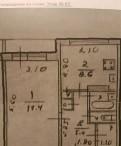 1-к квартира, 36 м², 2/3 эт