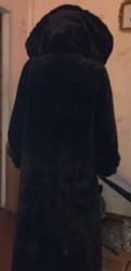 Шуба мутоновая, брюки женские бежевые