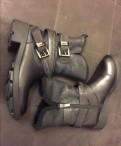 Зимние ботинки Ash, бирюзовые туфли на высоком каблуке