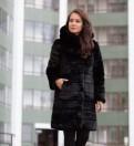 Модные женские вязаные свитера, норковая Эко шуба. Новая
