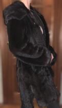 Шуба норковая с капюшоном в отличном состоянии, черное платье в пол из трикотажа