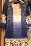Платья в очень хорошем состоянии, платье из бархата и гипюра