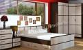 Кровать Сакура с ящиками и матрасом