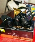 Фотоаппарат nikon d3200 плюс линза
