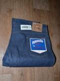 Мужской плащ полиэстер, джинсы Roebucks W38 L30, Made in USA, 80-е