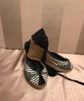 Босоножки Aldo р. 37, туфли на каблуке с ремешком