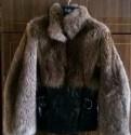 Кожаная куртка с мехом енота, купить норковую шубу бу олх