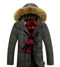 Мужская зимняя куртка на алиэкспресс, пуховик мужской