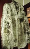 Полушубок натуральный мех, женские штаны хаки с карманами