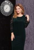 Платье бархатное 58 размер, женские майки футболки интернет магазин