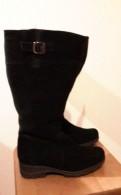Женские тапочки для моря размер, финские замшевые сапоги Янита Цвет чёрный